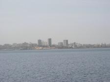 Insel Goree, Skyline Dakar